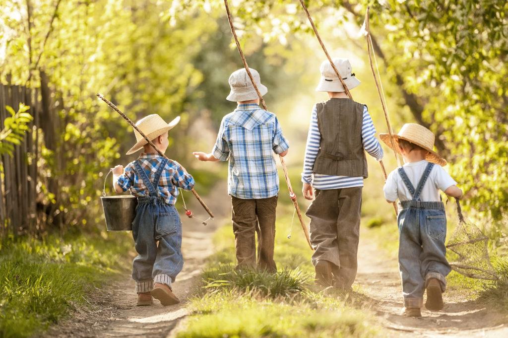 Kids Fishing - Applegate Properties